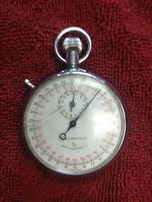 Chesterfield Anti Magnetic 1/10 Swiss Made Mechanical Wind Up Stopwatch