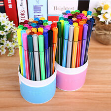 12 washable brush markers Drawing Painting Pens Kids Children Art Craft Cute