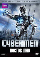 Doctor Who: The Cybermen (DVD, 2015, 2-Disc Set) includes laptop decal