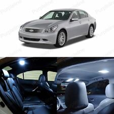 11 x Xenon White LED Interior Light Package For 2007 - 2008 Infiniti G35