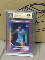 2019-20 Donruss Optic Ja Morant Rated Rookie Hyper Pink Prizm💎BGS 9.5💎GEM MINT