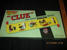 HASBRO , FIRST EDITION CLUE THE GREAT DETECTIVE GAME FROM 2003 - LITTLE USED