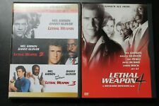 Lethal Weapon 1-3 Director's Cuts Dvd, Lethal Weapon 4 Dvd, Braveheart Dvd