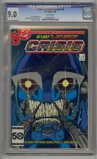 CRISIS ON INFINITE EARTHS #6 CGC 9.0 WHITE PAGES