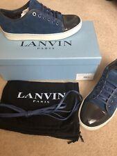 Mens LANVIN trainers - BLUE - UK8 (See description)