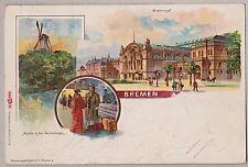 Vor 1914 Frankierte Normalformat Ansichtskarten aus Deutschland für Eisenbahn & Bahnhof