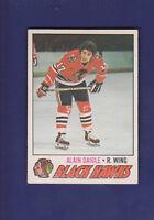Alain Daigle 1977-78 O-PEE-CHEE OPC Hockey #208 (EXMT+) Chicago Blackhawks