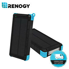 Open Box Renogy 24000mAh Solar Power Bank Dual USB Battery Charger Camping