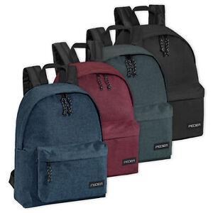 Freizeit Rucksack Unisex Reise Tasche Schule Arbeit mit 13,3 Zoll Notebookfach