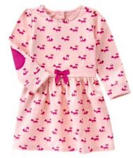 NWT Gymboree PLUM PONY Adorable pink fox dress NEW 3t