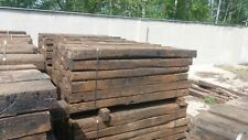 RECLAIMED GRADE B OAK SLEEPERS IDEAL FOR LANDSCAPING AND RETAINING WALLS