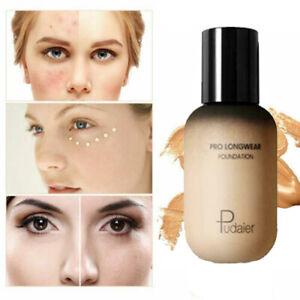 Lady Matte Liquid Skin Foundation Full Coverage Long Lasting Light Face Makeup