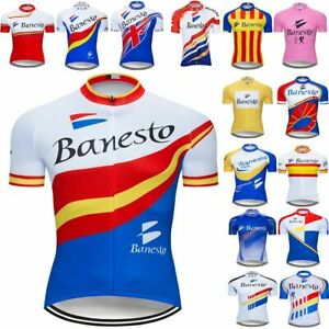 Cycling Jersey Mtb Ropa Ciclismo Men's Women Summer Maillot Bike Wear Bicycle XS