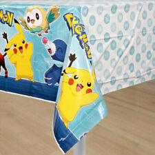 Pokemon Pikachu Party Table Cover Birthday Tablecloth Decoration Sun Moon ~1PC~