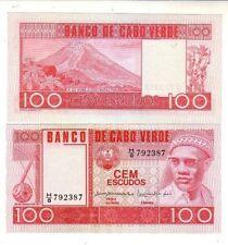 Capo Verde 100 escudos  1977  FDS  UNC Pick 54  lotto 2339