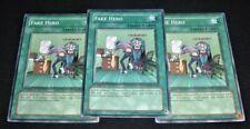 Yugioh Fake Hero DP03-EN022 NM/MINT 3X Common 1st Edition