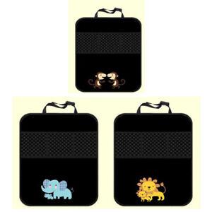 Car Seat Back PVC Multi-Pocket Storage Bag Organiser Pocket Prevent Dirty /water