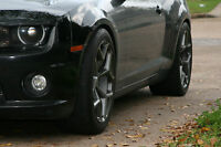 MRR M228 20x10/20x11 5x120 Gun Metal Rims Fits Camaro SS 1SS Package 2010 2011