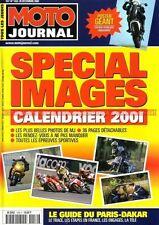MOTO JOURNAL 1452 Calendrier HONDA VTR 1000 SP1 ; 23ème Rallye PARIS DAKAR 2001
