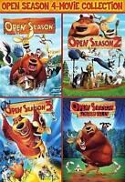 Open Season: 4-Movie Collection (DVD, 2016, 2-Disc Set)