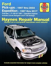 Ford F-150 / F-250, Expedition, Lincoln Navigator Repair Manual 1997-2017