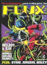 FLUX MAGAZINE # 2 5 FANZINE VIDEO GAMES COMICS HELLBOY MORTAL KOMBAT JOHN BYRNE