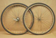 """Vintage 1967 Schwinn Typhoon Bicycle Wheels 26"""" S-7 Rims"""