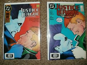 LOT OF 2 JUSTICE LEAGUE 18 & 19 - 1ST LOBO PUNK - COMBINED SHIPPING