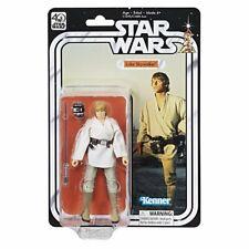 "Hasbro Star Wars 40th Anniversary Black Series 6"" Action Figure Luke Skywalker"