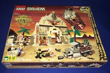Lego System#5988 Temple of Anubis/Egyptian Desert Pharaoh SET w/box instructions