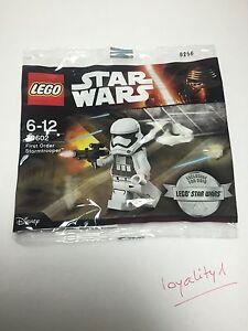 LEGO Star Wars 30602 Polybag First Order Stormtrooper Neuf Sachet Scellé