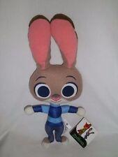 "New Disney 14"" Plush Officer Judy Hopps Doll Zootopia Stuffed Animal Bunny Toy"