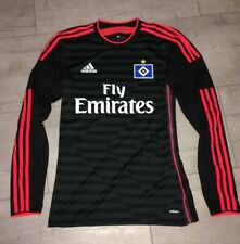 Hamburger SV Adidas Spieler Trikot Gr 5 HSV Langarm Jersey Adizero S