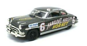 1952 FABULOUS HUDSON HORNET RACE CAR MARSHAL TEAGUE NASCAR 1:18 DIECAST HWY 61