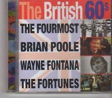 (GA318) The British 60s, 16 tracks various artists - 1997 CD