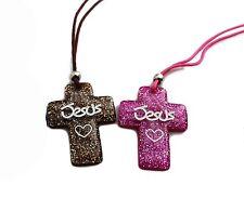 Christian Jesus Heart Cross - Two Color Cross Set