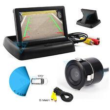 """Monitor 4.3"""" LCD Kit retromarcia telecamera posteriore per auto camper paraurti"""