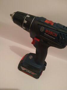 Bosch Cordless Drill GSR 18-2-LI Plus, 1x 4Ah VGC
