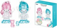 """Little Twin Stars 3D Puzzle 41pcs H2.3"""" Plastic Crystal Puzzle Sanrio New in Box"""