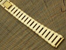 Lassale Vintage Watch Band 12mm Ladies Base Metal Butterfly Clasp NOS Unused