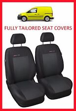 Volkswagen Caddy Van 1+1 FULLY TAILORED SEAT COVERS (2003 - on)  - PATTERN 3