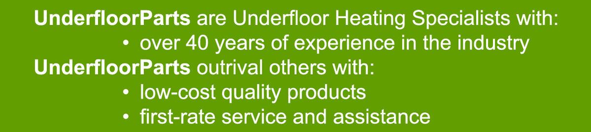 Underfloor Heating Parts