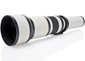 Opteka 650-2600mm Telephoto Zoom Lens for Nikon F DX FX Mount DSLR Cameras