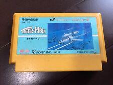 NINTENDO FAMICOM TIGER HELI NES JAPAN