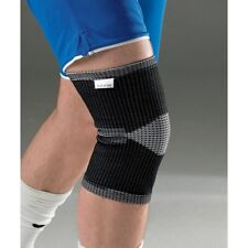Vulcan Elasticated Black Knee Support 3110