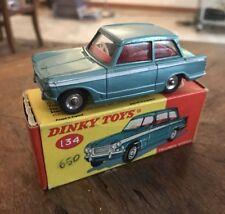DINKY TOYS 134 - TRIUMPH VITESSE SALOON NEW MINT IN BOX!!! FANTASTIC