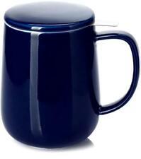 Tea Mug with Infuser and Lid Navy