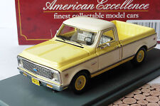 CHEVROLET C10 PICKUP 1971 WHITE YELLOW NEO 45393 1/43 JAUNE BLANC GELB WEISS