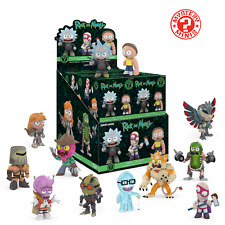 FUNKO MYSTERY MINIS RICK AND MORTY SERIES 2 BLIND BOX (1 BOX SUPPLIED)