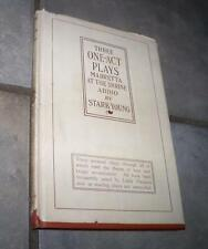 1921 FIRST EDITION THREE ONE ACT PLAYS MADRETTA AT THE SHRINE ADDIO YOUNG DJ